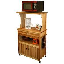 kitchen island microwave cart kitchen oak wood catskill craftsmen for inspiring small kitchen