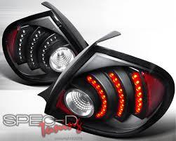 spec d tail lights specd black housing led tail lights dodge srt4 03 05