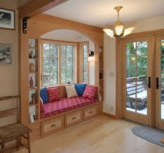 built in window seat country kitchen with built in window seat by christopher gutsche