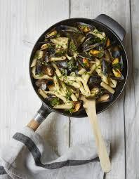 recette de cuisine sur 3 one pot pasta penne moules et fines herbes pour 3 personnes