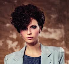 short very curly hairstyles very short hairstyle with curls