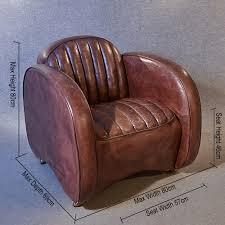Vintage Leather Club Chair Antiques Atlas Art Deco Leather Armchair Vintage Club Easy Chair