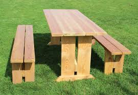 Rent Picnic Tables Wood Picnic Bench Bench Decoration