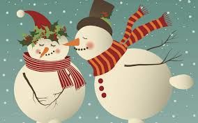 kissing snowman pages christmas card template free iwork templates