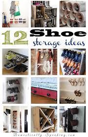12 shoe storage organization ideas cleaning u0026 organizing