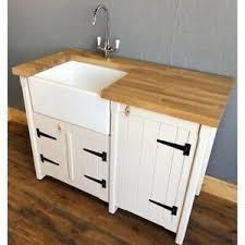 stand alone kitchen sink unit details about pine freestanding kitchen utility room belfast butler sink unit oak worktop