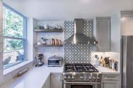 west hollywood open grey u0026 white kitchen remodel eden builders