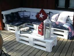 Diy Wood Pallet Outdoor Furniture by Patio Furniture From Pallets Instructions Pinterest Patio