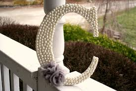 home decor letters the daily sugar april s treat pearl embellished wooden home