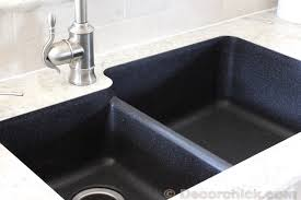 black countertop with black sink 10 beautiful kitchens with laminate countertops