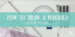 how to draw a mandala a step by step guide boho berry