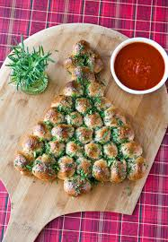 eclectic recipes cheese stuffed tree pull apart bread