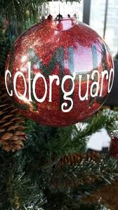 color guard ornament includes gift box by pydesigned on