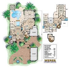 House Plans With Courtyard House Plans Andalusian Courtyard House Plans Frank Betz