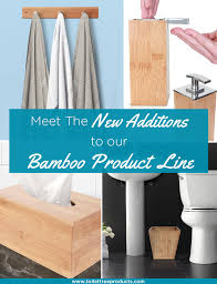 Bamboo Bathroom Accessories by 9 Elegant Bamboo Products For Your Bathroom