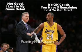 Funny Lakers Memes - mike d antoni game debut in lakers nba funny moments