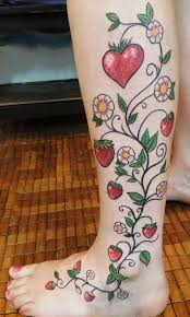 strawberry tattoo images u0026 designs