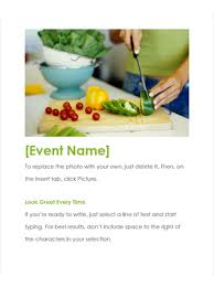 event flyer office templates