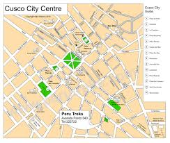 Tourist Map Of San Francisco by Cusco City Map