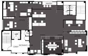Office Floor Plan Templates by Modern Office Interior Design U2013 Example 1 U2013 The Crazy Bag Lady