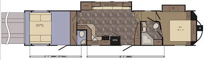 Fifth Wheel Rv Floor Plans by Crossroads Introduces New Altitude Fifth Wheel Toy Hauler U2013 Vogel