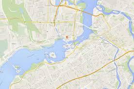 Map Of Ottawa Canada by Contact Zibi
