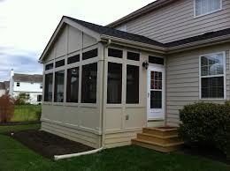 Home Front Yard Design Prefab Screen Porch Panels
