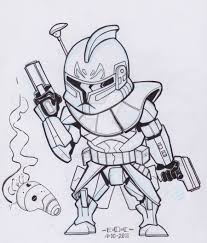 captain rex coloring page kids coloring