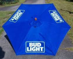 Budweiser Patio Umbrella Bud Light Patio Umbrella