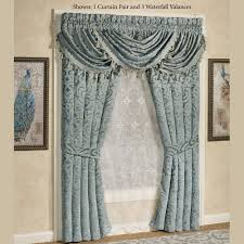 Newell Curtain Rods by Wide Window Curtains French And Patio Door Panels Touch Of Class