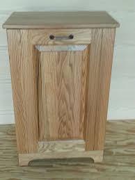 Kitchen Cabinet Trash Bin by Four Seasons Furnishings Amish Made Furniture Tilt Out Trash Bin