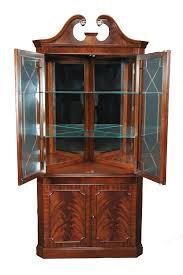 Antique Corner Cabinets Antique Corner Curio Cabinet