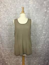 chico outlet chico s outlet rhianna tank size 2 large metallic gold knit