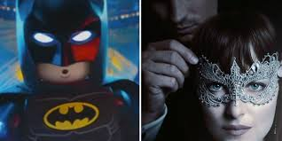 50 shades of grey halloween costume not even fifty shades darker can keep the lego batman movie from