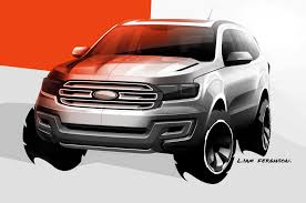 Ford Ranger Design Ford Ranger Based Everest Concept Suv Debuts In Australia