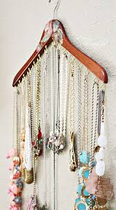 jewellery necklace storage images 13 awesome diy hacks to organize your jewelry and accessories jpg