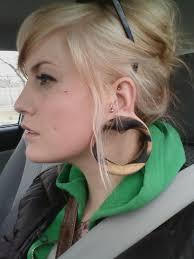 earrings for big earlobes big lobes gauges heart heart microdermal plugs earrings
