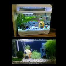 instock spongebob fish tank accessories decorations pets