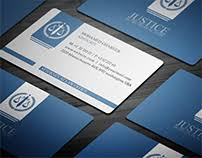 Lawyers Business Cards Most Appreciated Projects On Behance
