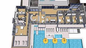 dream house plan all star dream house with indoor basketball court youtube plan