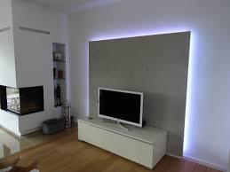 Wohnzimmer Ideen Tv Wand Tvschrank Wohnzimmer Rückwand Mit Led Von Lauer Die Schreinerei