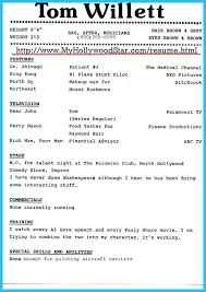 Musical Theater Resume Sample by Theatrical Resume Template Student Actor Resume Template 10