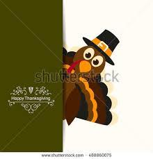 vector illustration happy thanksgiving celebration design stock