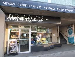 adrenaline studios toronto vancouver tattoos piercings