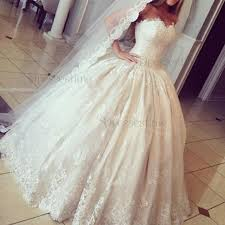 modern ball gown sweetheart sleeveless ruched lace wedding dress