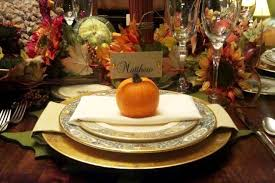 thanksgiving decoration and table setting 101