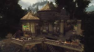 elisdriel bosmer inspired tree house at skyrim nexus mods and