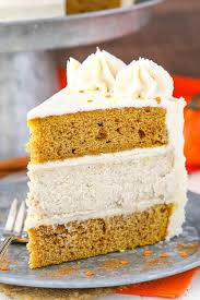pumpkin cheesecake cake and sugar