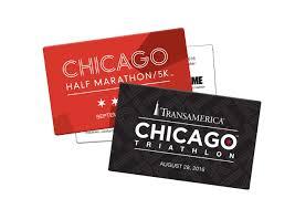 half gift cards announcing our new gift entry program chicago half marathon 5k