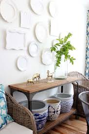 Decorating My Dining Room by Decorating For Summer Summer Tour Of Homes Plate Wall White